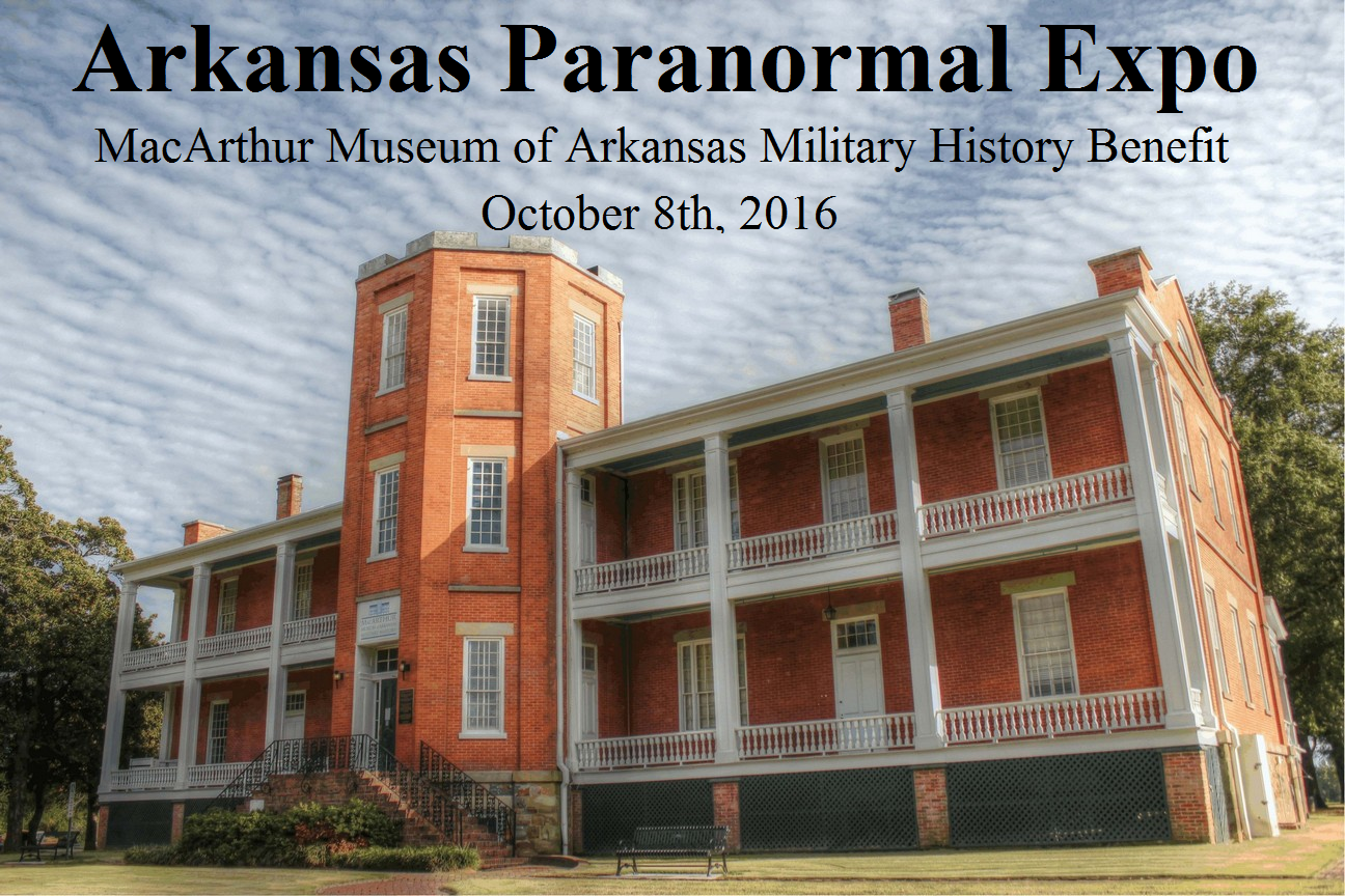 Arkansas Paranormal Expo 2016